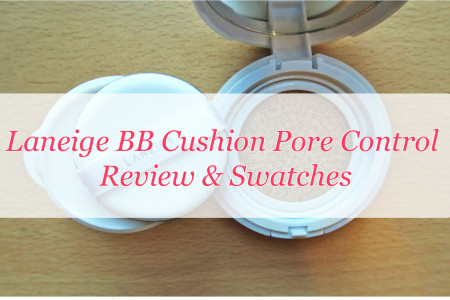 Laneige BB Cushion Pore Control Review Infographic