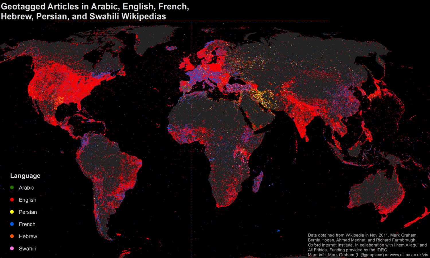 Languages of Wikipedia Infographic
