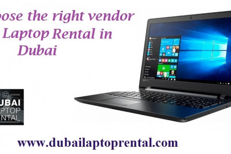 Laptop for Rent in Dubai - Lenovo,HP, Dell Infographic