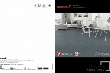 Largest collection of Ceramic Floor Tiles Design in India Infographic