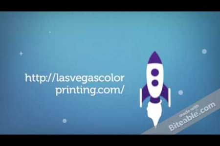 Las Vegas Color Printing Company Infographic