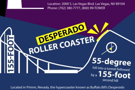 Las Vegas Thrill-Seeking Activities Infographic