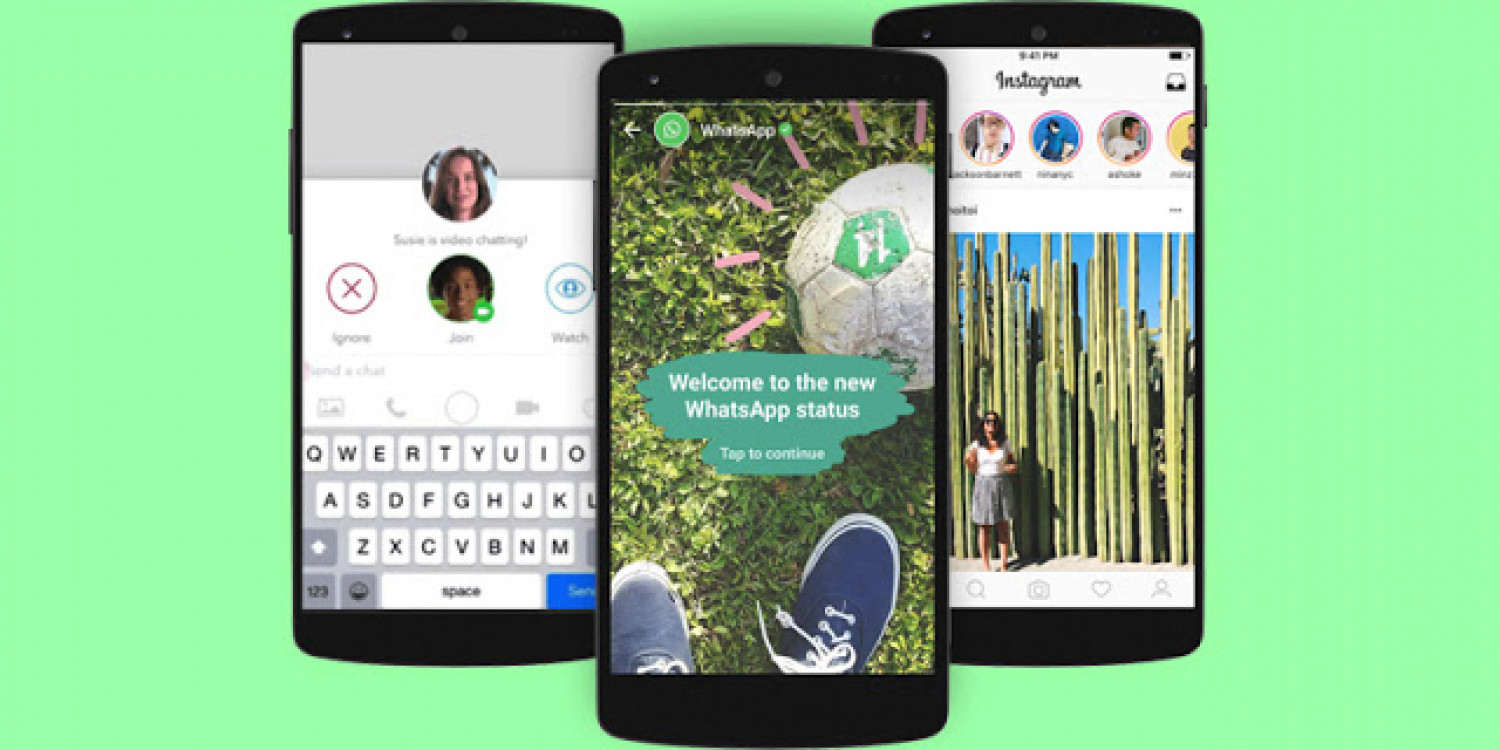 Latest and Upcoming Features of WhatsApp, Facebook, and Instagram Infographic