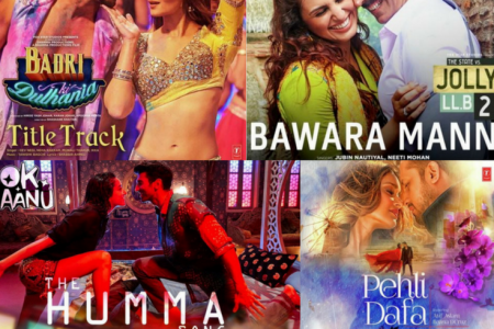 Latest Bollywood Hindi Songs Infographic
