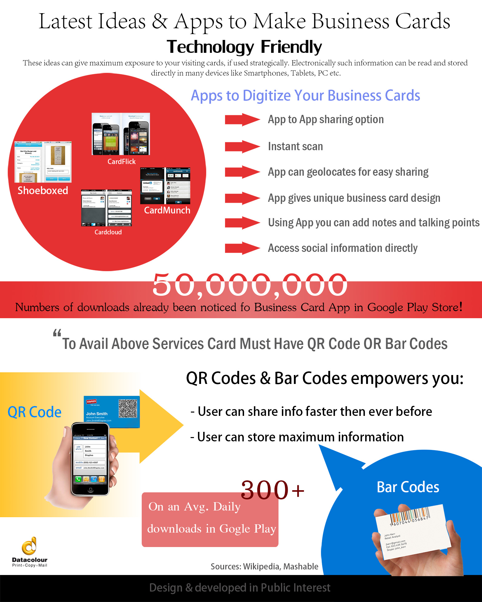Latest Ideas and Apps to Make Business Cards Technology Friendly