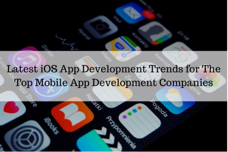 Latest iOS App Development Trends for The Top Mobile App Development Companies Infographic