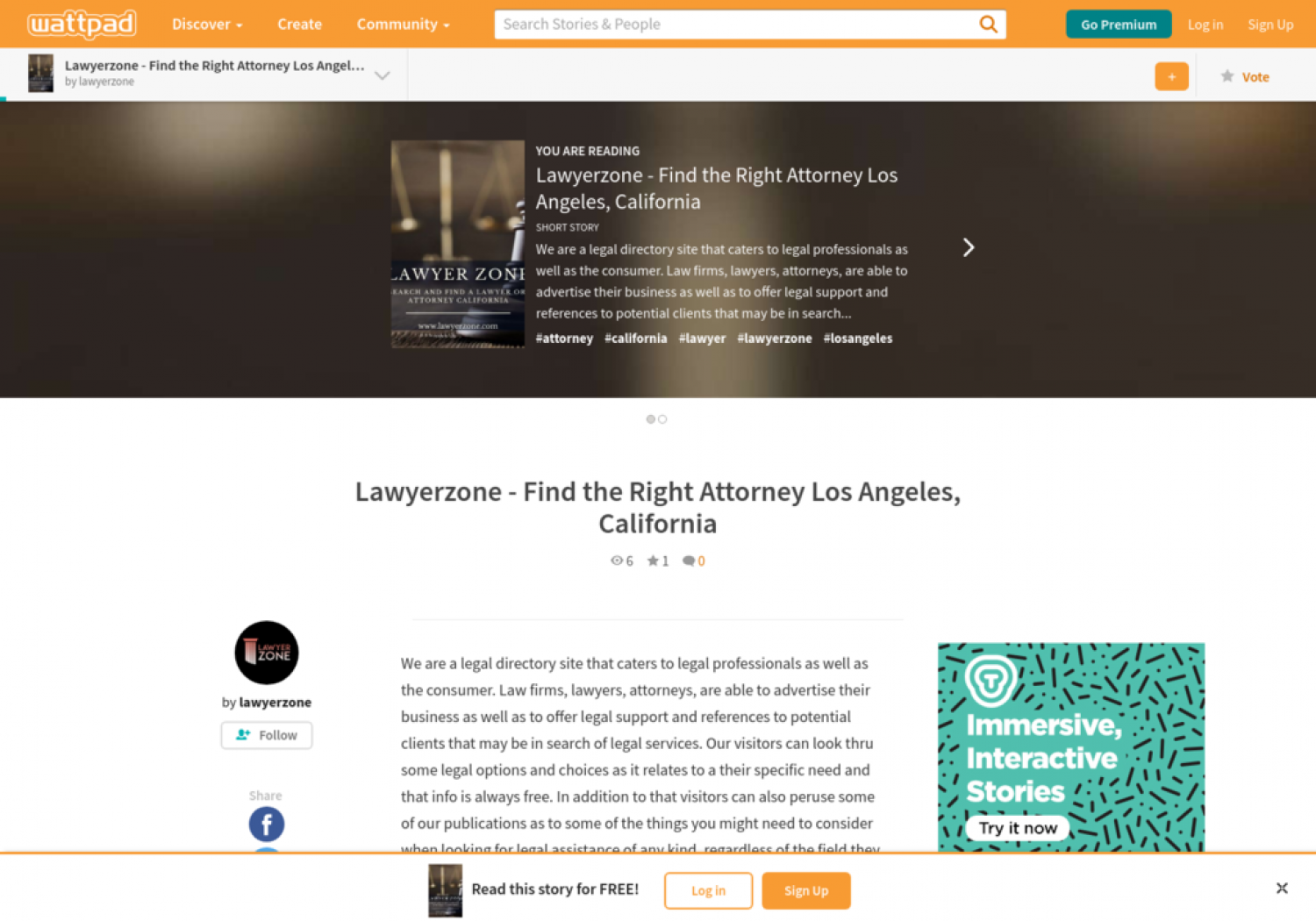 Lawyerzone - Find the Right Attorney Los Angeles, California Infographic