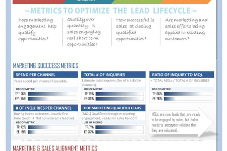Lead Lifecycle Analytics Dashboard Infographic
