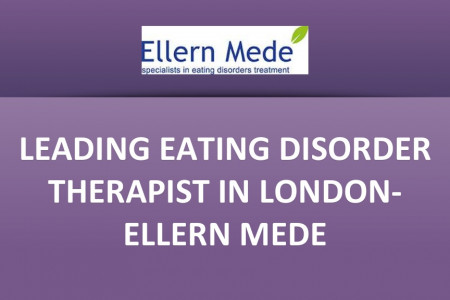 Leading eating disorder therapist in London- Ellern Mede Infographic