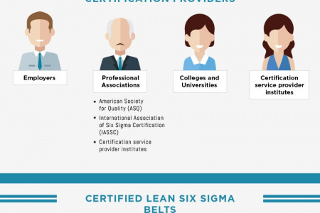 Lean Six Sigma Levels Explained (Infographic) Infographic