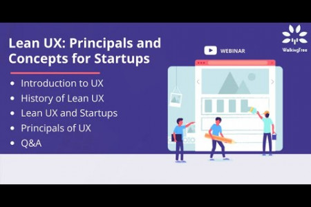 Lean UX: Principals and Concepts for Startups Infographic