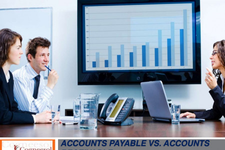 Learn about Accounts Payable vs Accounts Receivable Infographic