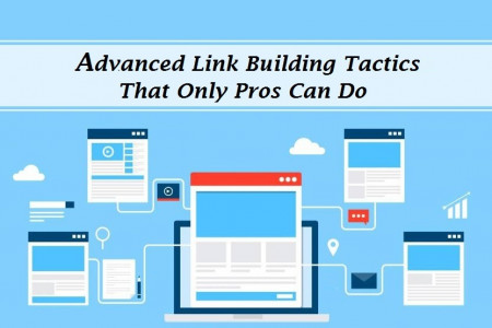 Learn Advanced Professional Link Building Techniques  Infographic