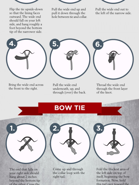 Fashion knot infographics visual how to tie a tie the easy way infographic ccuart Choice Image