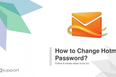 Learn steps to change Hotmail password | Contact @ +1-888-815-6317 Infographic