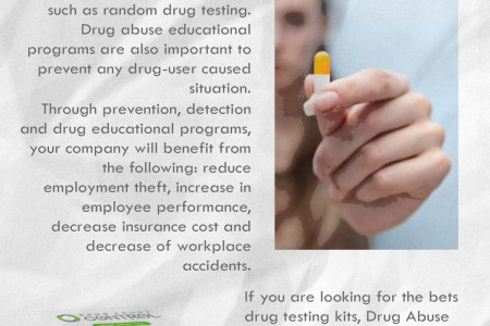 Learn to Deal with Workplace Drug Abuse Infographic