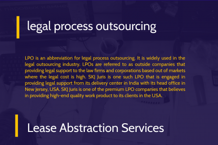 Lease Abstraction Services Infographic