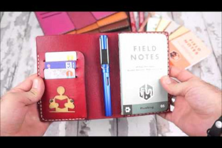Leather Field Notes Cover Infographic