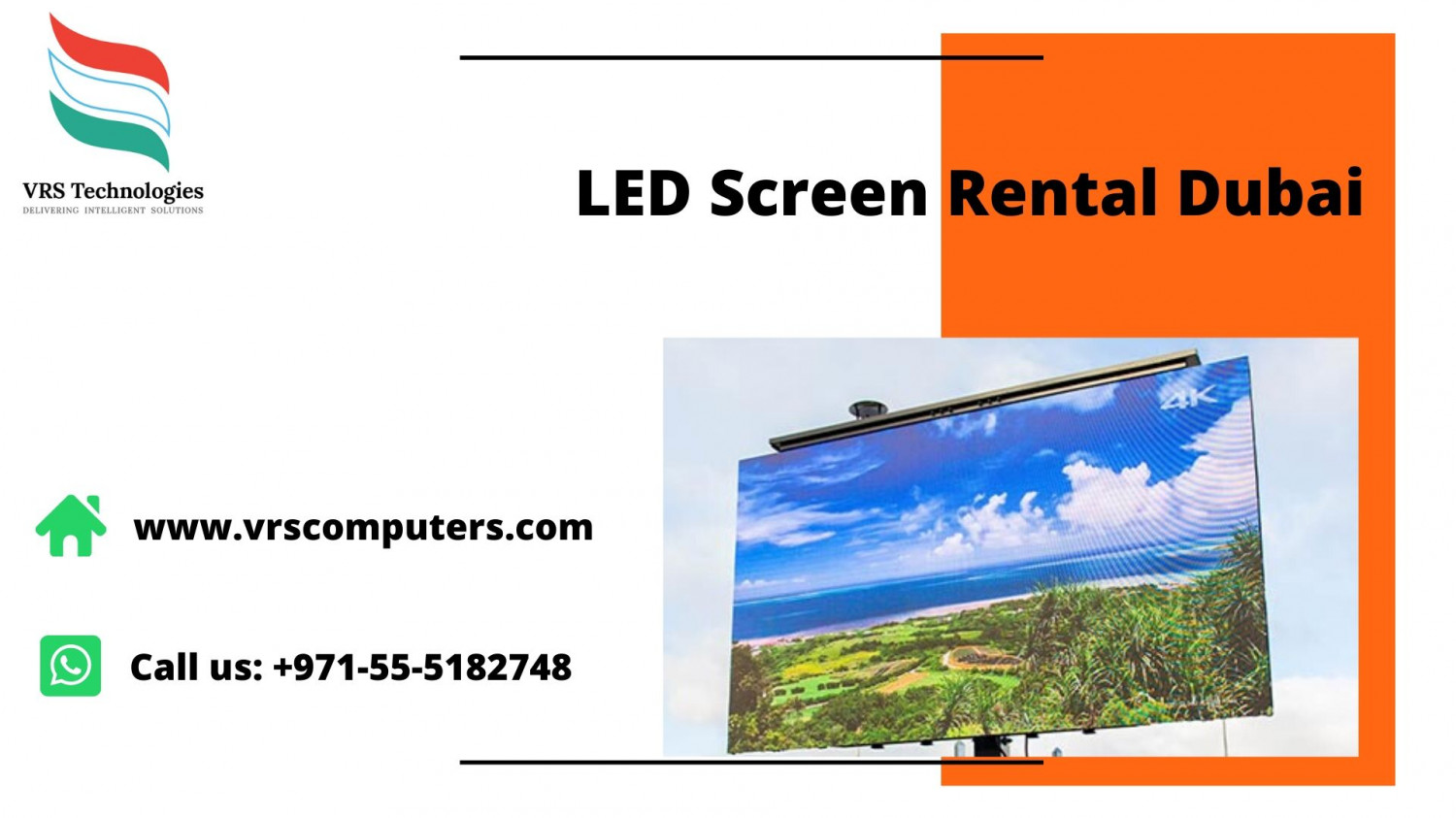 LED Screen Rental Dubai Infographic