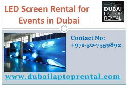 LED Screen Rental for Events in Dubai Infographic