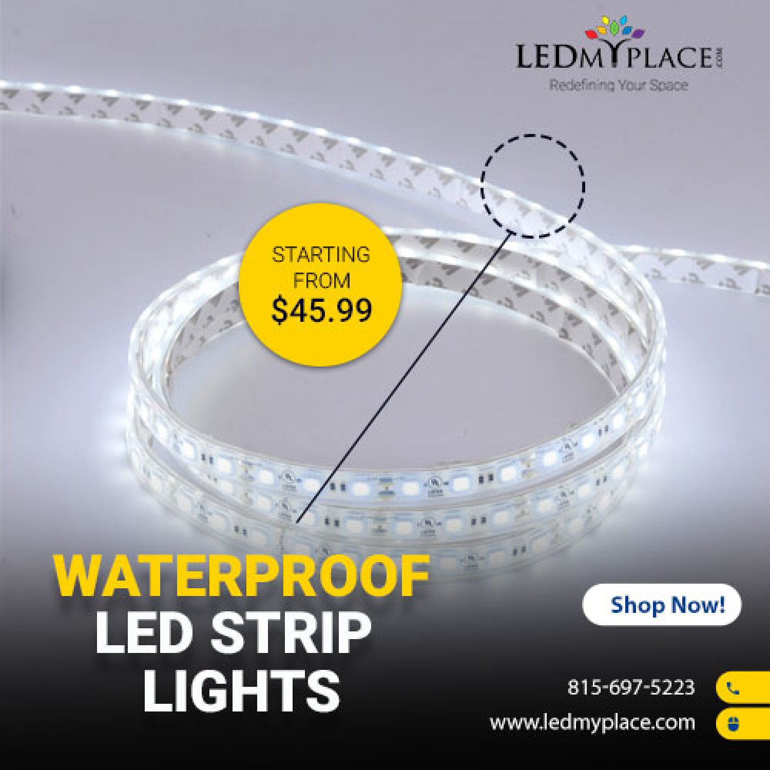 LED Strip Lights - An Energy-efficient And Low Maintenance Lights Infographic