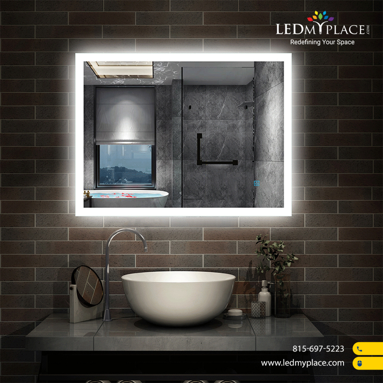 LED Vanity Mirrors With Defogger Features, Don't Miss Them Infographic