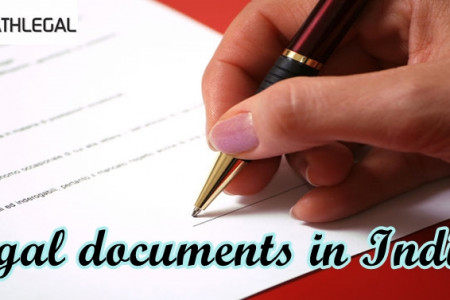 Legal documents in India Infographic