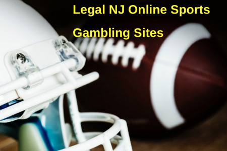 Legal NJ Online Sports Gambling Sites Infographic
