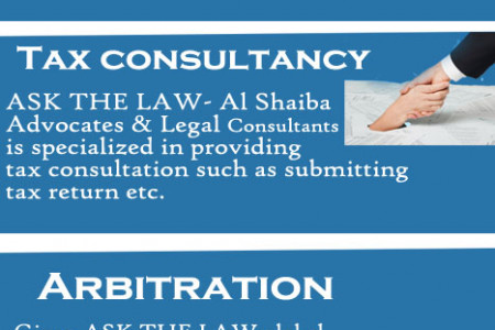 Legal Services in Dubai Infographic