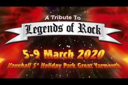 Legends Of Rock Festival - Great Yarmouth Infographic