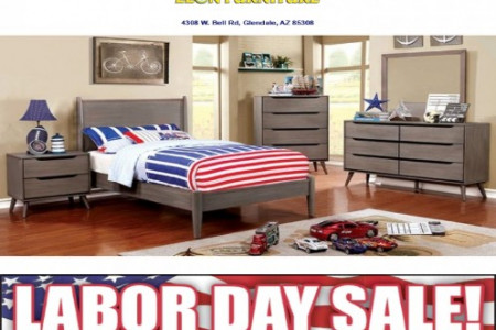 Lennart II -Gray- 5PC Bedroom Collection Infographic