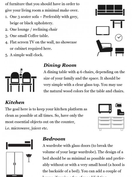 How to Create a Minimal Home Infographic