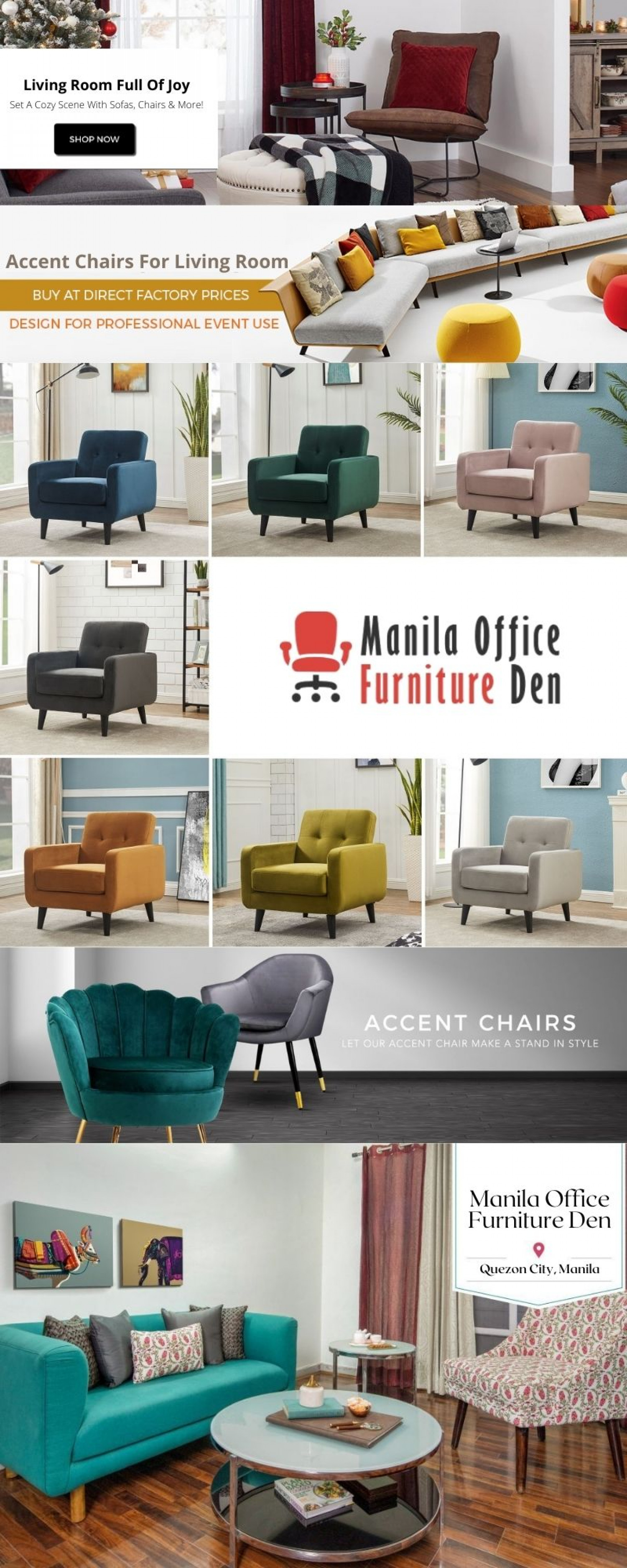 Let Our Accent Chair Make A Stand In Style Infographic