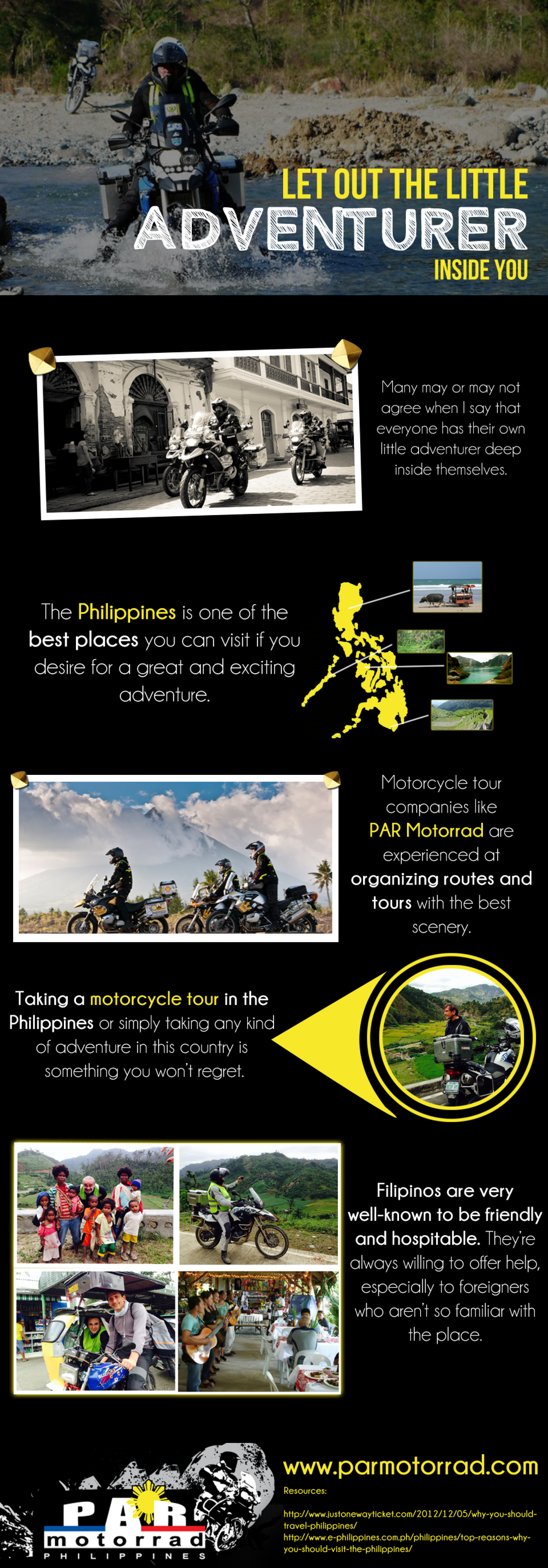 Let Out the Little Adventurer inside You Infographic
