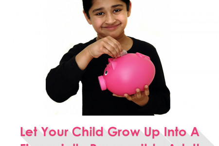 Let Your Child Grow Up Into A Financially Responsible Adult Infographic