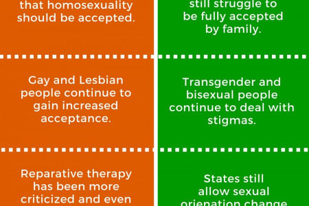 LGBT Progress... and Barriers Infographic