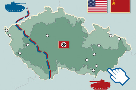 Liberation of Bohemia and Moravia 1945 Infographic