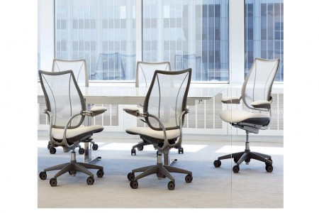 LIBERTY TASK ERGONOMIC MESH CHAIR | OFFICE FURNITURE | HUMANSCALE INDIA Infographic