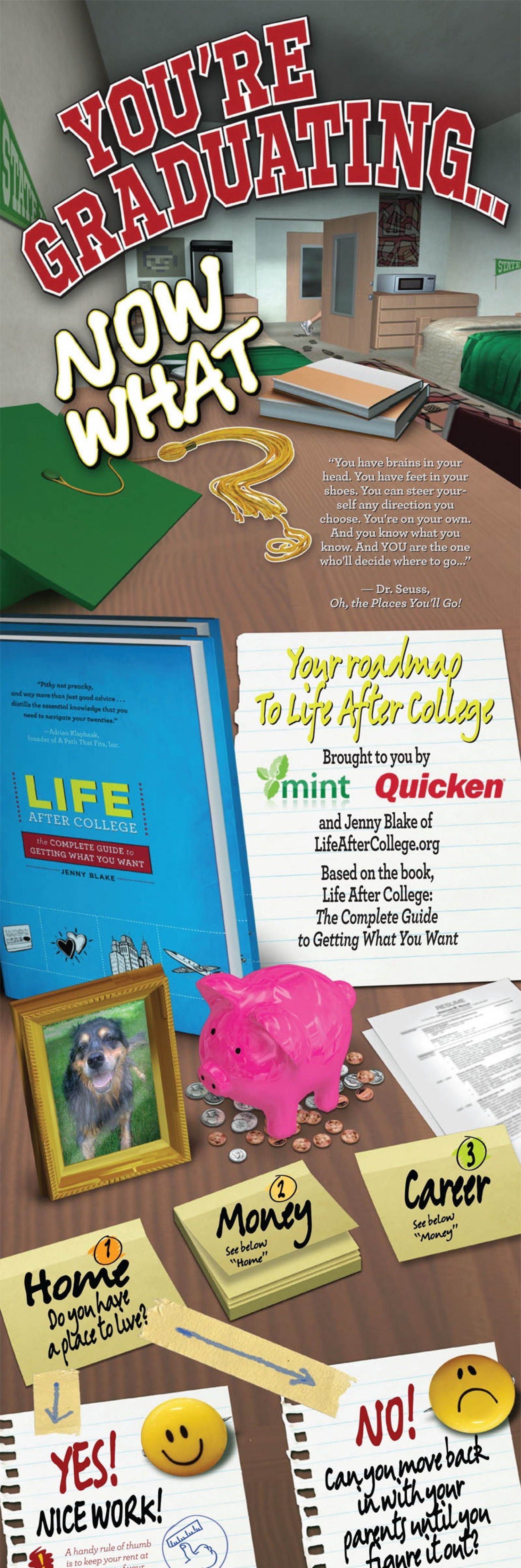 Life After College Roadmap Infographic