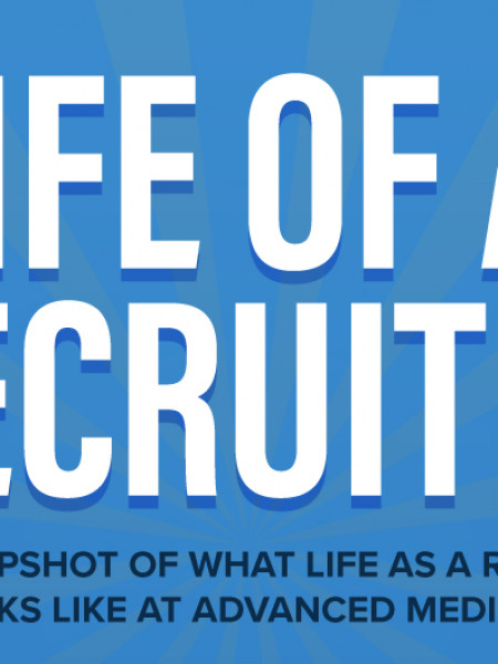 Life of a Recruiter Infographic