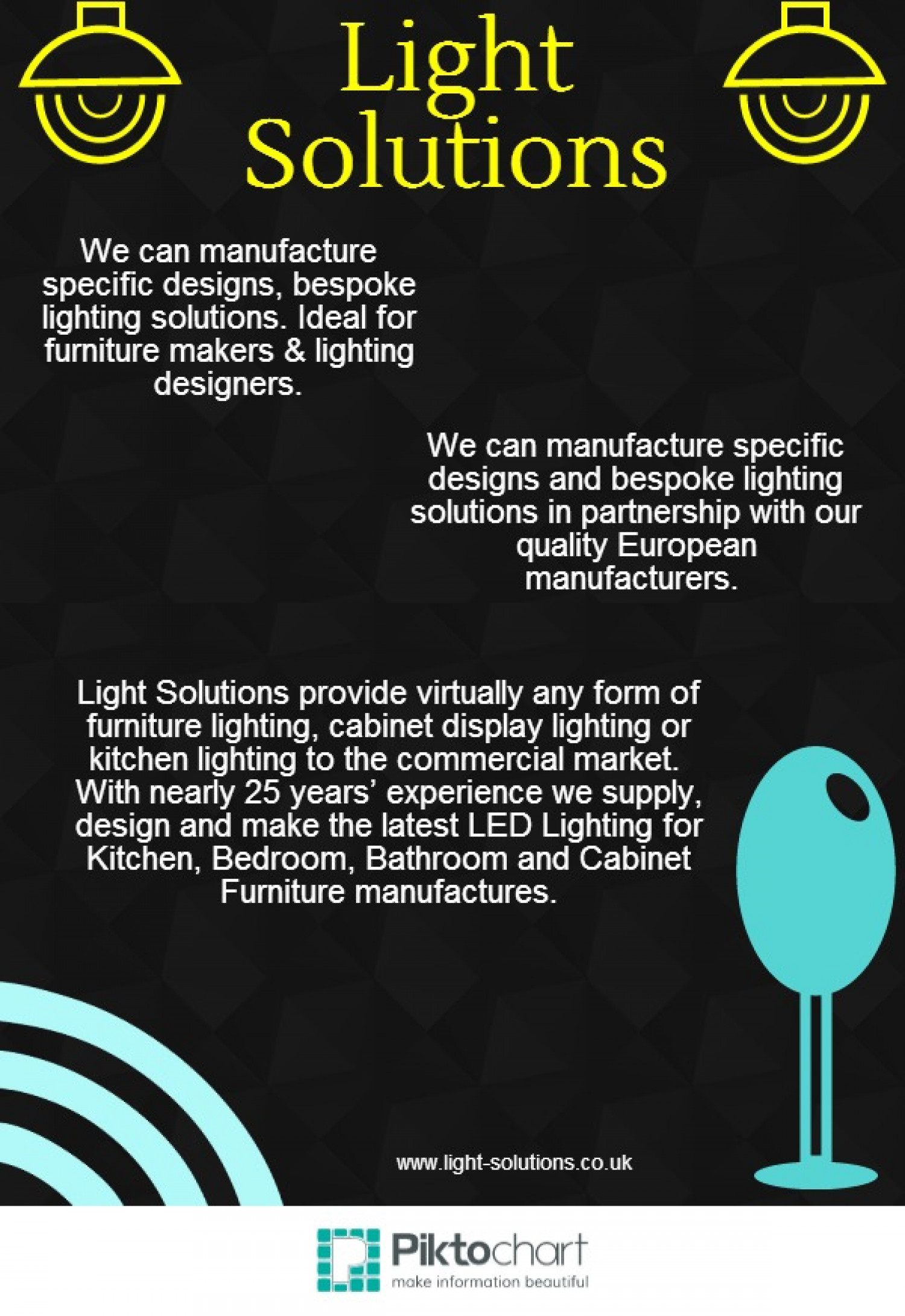 Light Solutions Infographic