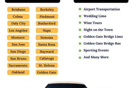 Limousine & Party Bus Service SF Infographic