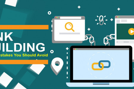 Link Building - Major Mistakes You Should Avoid Infographic