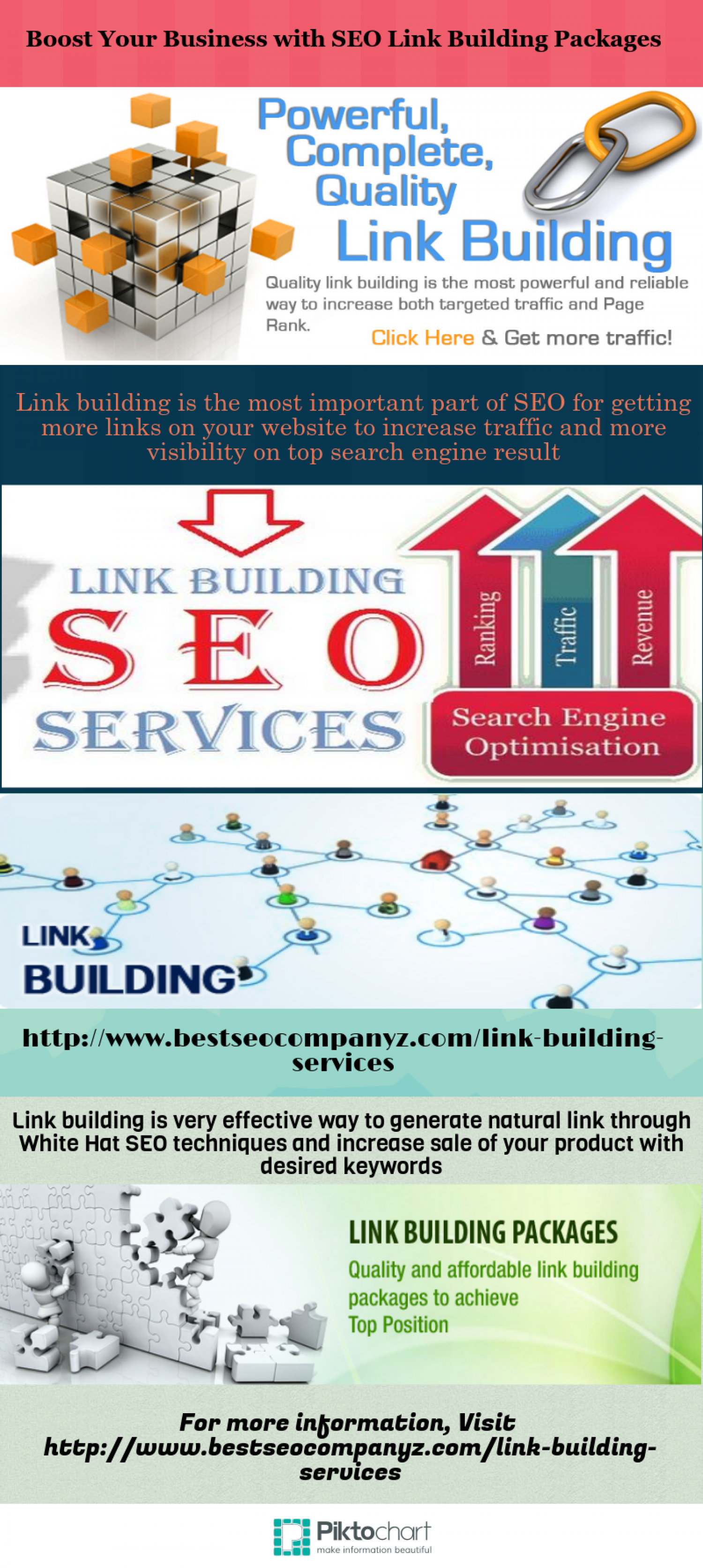 Link Building Packages to Suit your Budget Infographic