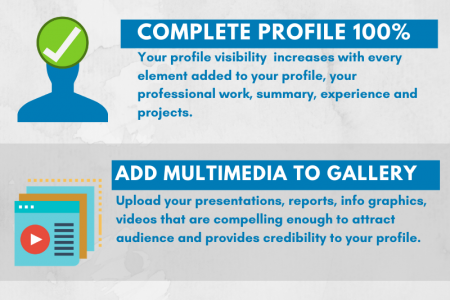 LinkedIn tips for small business Infographic