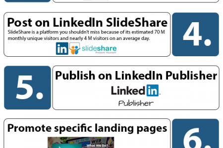 LinkedIn To Its Fullest Potential: 10 Tips To Maximize Your Content Exposure on LinkedIn  Infographic