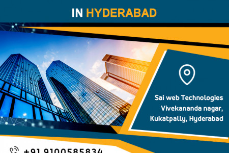 List of web designing companies in Hyderabad Infographic