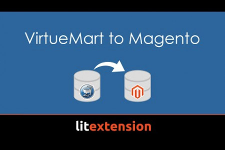 LitExtension VirtueMart to Magento Migration Tool Infographic