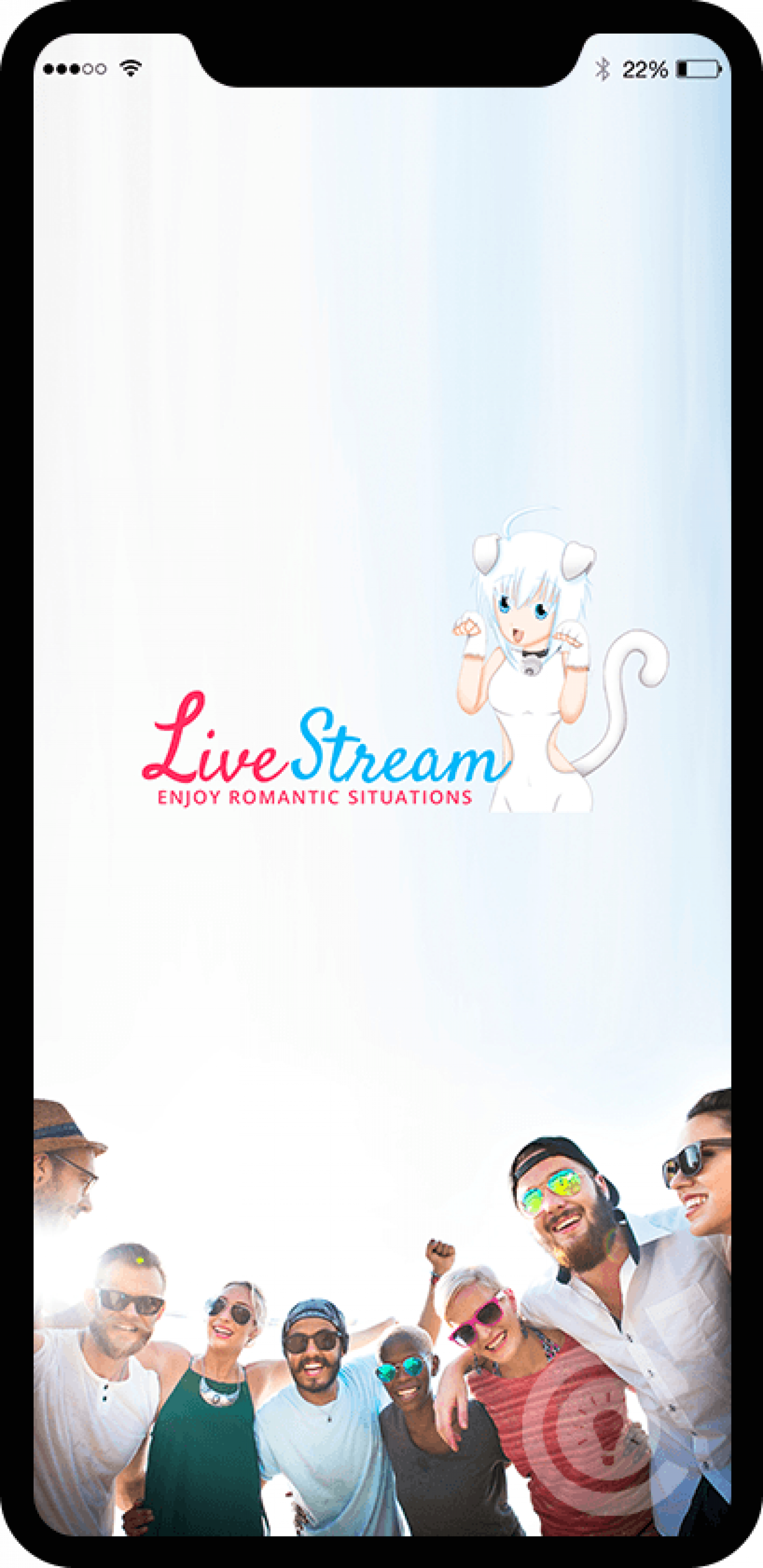 LIVE STREAMING APPLICATION Infographic