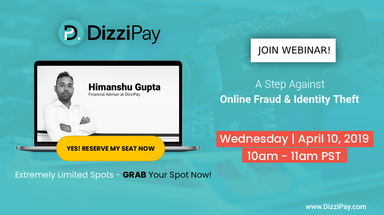 Live Webinar on Consumer Awareness: A Step Against Online Fraud and Identity Theft Infographic